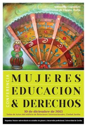 Mujeres, educación y derechos